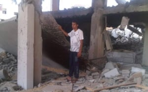 Gaza conflict  Baraa