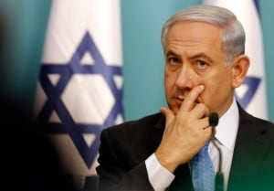 MIDEAST-GAZA netanyahu
