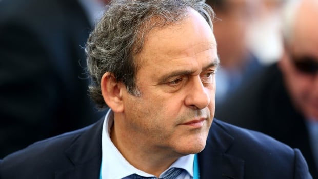 Michel Platini, head of UEFA, says he won't be running for the FIFA presidency.