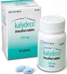 Kalydeco cystic fibrosis drug