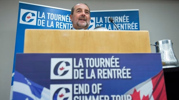 Denis Lebel is trying to woo a province where the party holds just five seats and polls have often suggested it sits fourth in popular support.