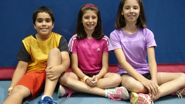 Camp U of T participants Nathan Arasakrishnan, 10, Lauren Altomare, 10 and Micol Altomare, 11, talk about their experiences with spontaneous play.
