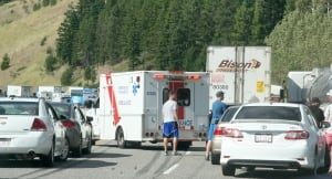 Coquihalla Highway tour bus crash