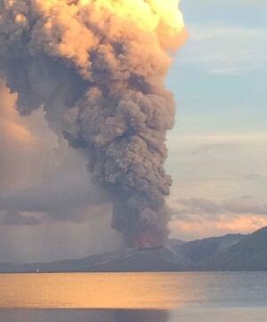 Papua New Guinea Volcano Eruption