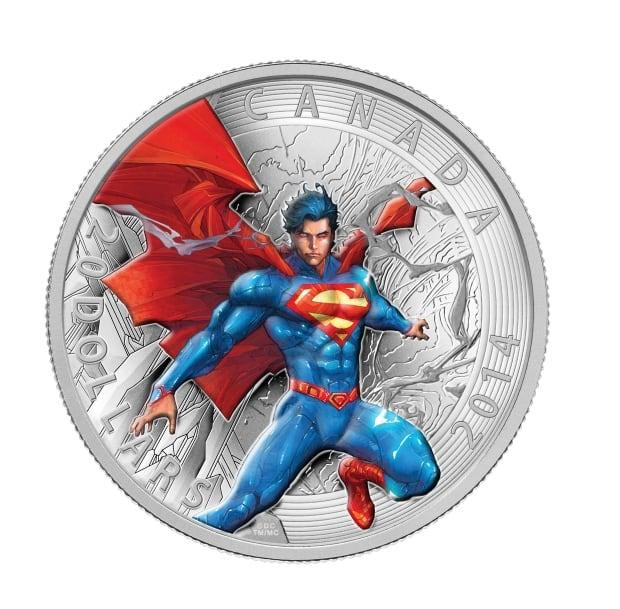 2014 $20 fine silver Superma coin