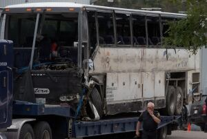 Tour Bus Crash 20140829