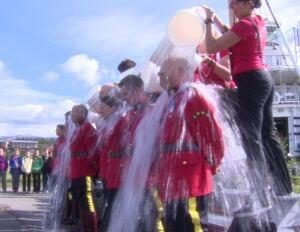 Yukon RCMP ALS Ice Bucket Challenge