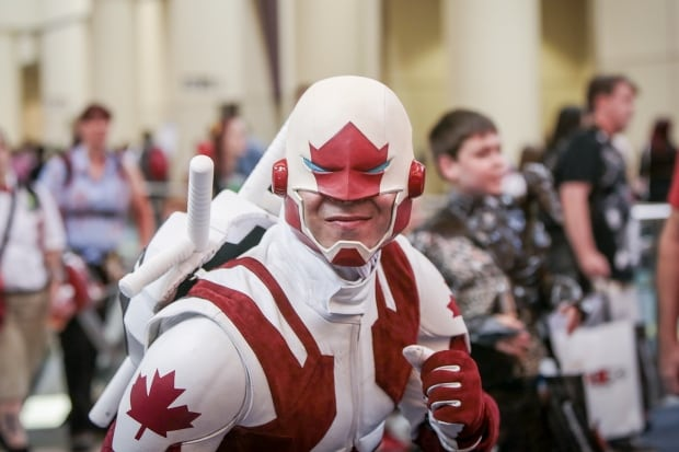 Fan Expo 2014 Captain Canuck