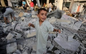 Gaza conflict reconstruction