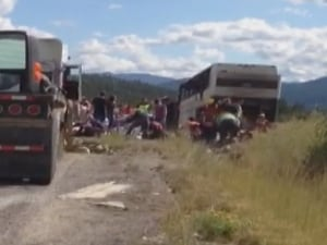 Coquihalla Super Vacation tour bus crash - Aug. 28, 2014