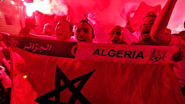 Algerian soccer hooligans are storming pitches, stoning players and clashing outside stadiums as an outlet for daily frustrations.