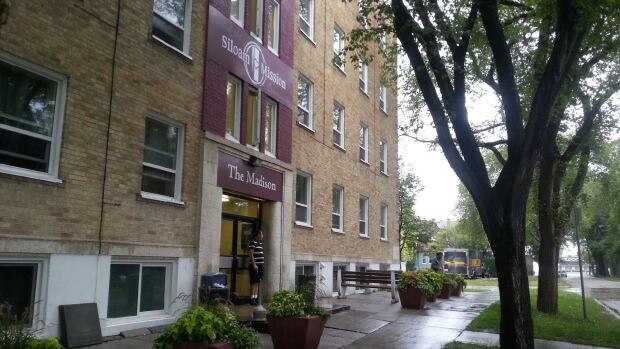 The stabbing took place at The Madison, a supported housing building on Evanson Street in Winnipeg's Wolseley neighbourhood.