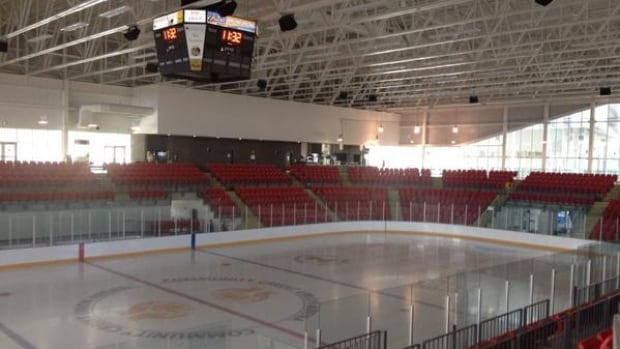 The rink at the RECC in Truro is shut down due to mechanical problems