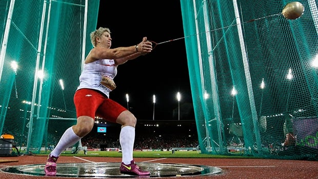 Anita Wlodarczyk of Poland set a new world record of 79.58 metres in the women's hammer throw at ISTAF Berlin on Sunday.