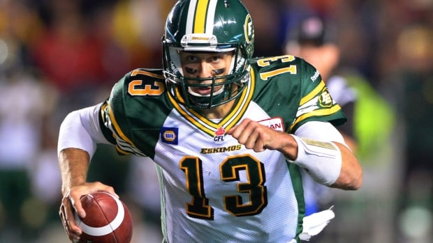 The thumb of Edmonton Eskimos QB Mike Reilly has not completely healed since he injured it last week against Toronto.