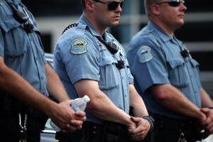 Police Shooting Missouri Rally