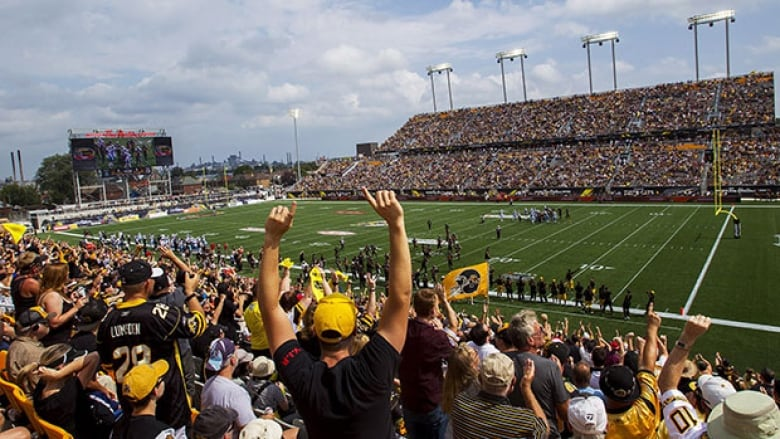 Hamilton Tiger-Cats fans will find out Thursday if the team will host the  2020 Grey Cup. (Aaron Lynett Canadian Press) 260dcc484