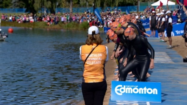The ITU World Triathlon Grand Final wrapped up in Edmonton Monday. Thousands of people from around the world came to the city for the event.