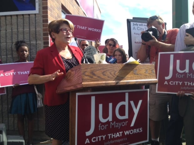 Judy Wasylycia-Leis for mayor campaign announcement