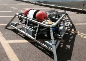 Tidal power sensor platform