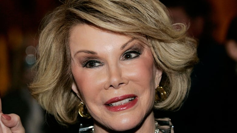 Joan Rivers dead in New York at 81, says daughter | CBC News