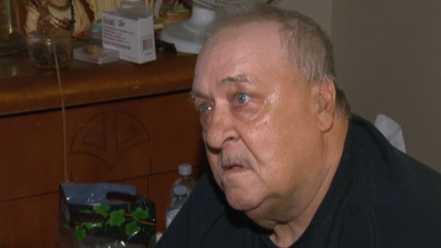 Rheal Cyr relies on an electric wheelchair to get around since his leg was amputated. He has been stuck on the fourth-floor of his Ottawa Community Housing apartment building for a week because the elevator is broken.
