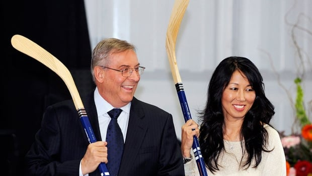 Terry, left, and Kim Pegula remain the front-runners to buy the NFL's Buffalo Bills. The owners of the NHL's Sabres, the Pegulas have a net worth of more than $3.5 billion, and the support of local business leaders.