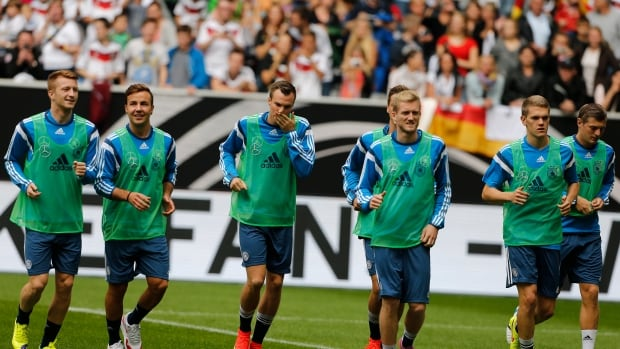 The German national soccer side played a friendly this week.