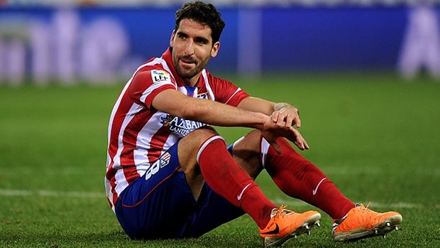Spain will rely heavily on contributions from Raul Garcia of Club Atletico de Madrid as it tries to rebuild the men's soccer squad.