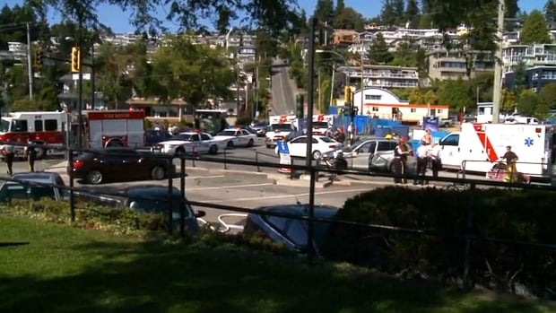 White Rock accident wide