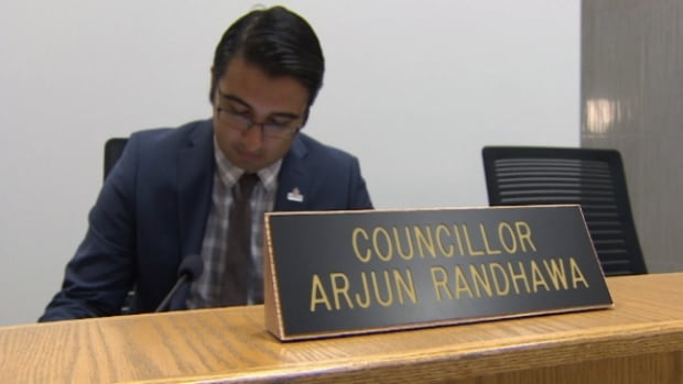 Arjun Randhawa was elected to Fort Saskatchewan city council last October.