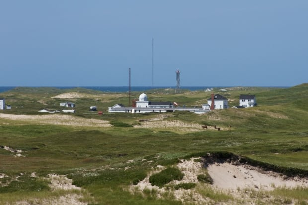 Sable Island meteorological station