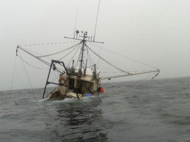 fishermen rescued