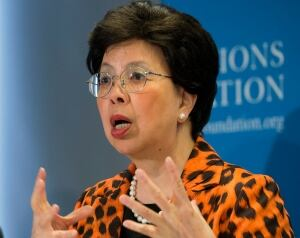 WHO Dr. Margaret Chan