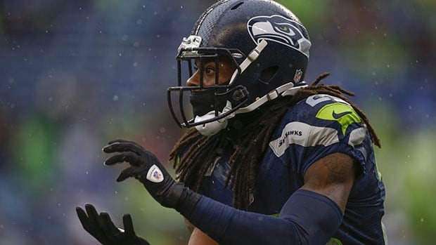 All-Pro cornerback Richard Sherman headlines a fierce Seattle defence that allowed only 14.4 points per game last season, tops in the league.