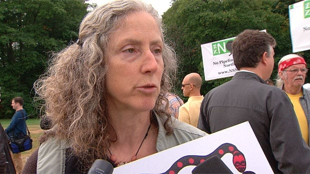 Ruth Walmsley says she and other are prepared to take non-violent action to block the Trans Mountain Pipeline expansion on Burnaby Mountain.