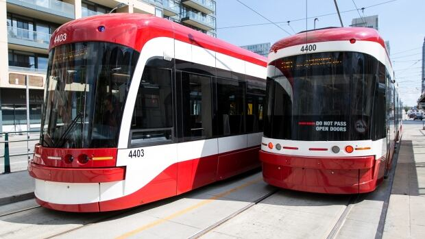 TTC.new.streetcars.