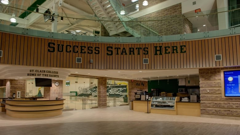 Merveilleux The New SportsPlex Has A Triple Gym And A 2,000 Square Foot Fitness Centre.  (Facebook). St. Clair College ...