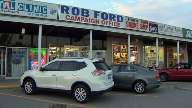 A man who has been volunteering for Toronto Mayor Rob Ford's re-election campaign has been charged with assault, mischief and theft after an alleged altercation at the mayor's campaign office in Scarborough.