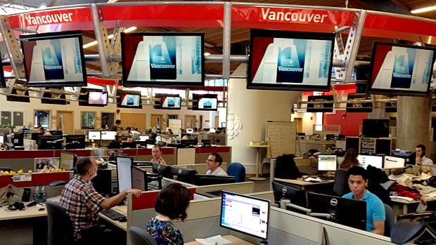 The CBC team in B.C. has received 14 nominations in six categories for the 2014 Jack Webster Awards.