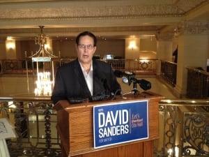 Winnipeg mayoral candidate David Sanders