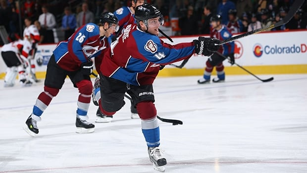 Defenceman Tyson Barrie posted 13 goals and 25 assists for 38 points in 64 games with the Colorado Avalanche last season.