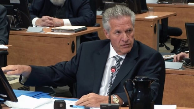 Tony Accurso told the commission that his employees were reimbursed for political donations.