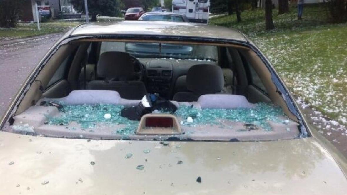 how to fix hail damage edmonton