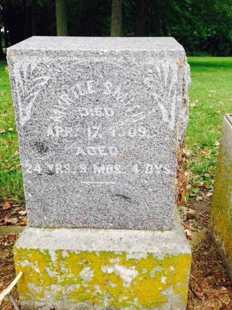 Black cemetery in Tecumseh receiving heritage designation   CBC News