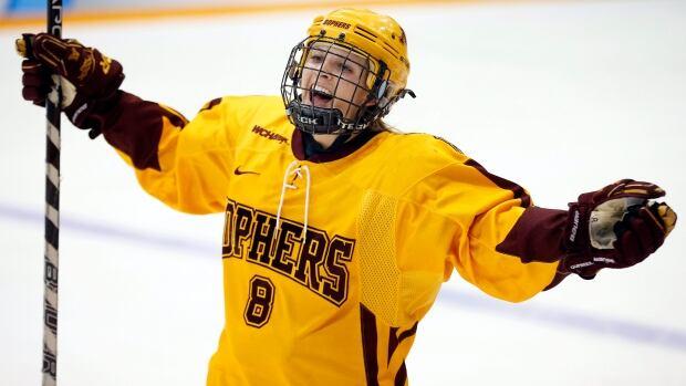Minnesota's Amanda Kessel will miss her second straight NCAA season.