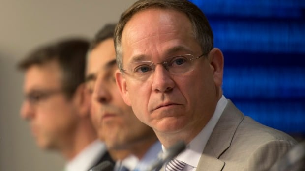 Bell Media President Kevin Crull CRTC hearings on the future of television in Gatineau, Que. Wednesday that current proposals to mandate 'pick and pay' cable packages would cost the domestic industry too much.