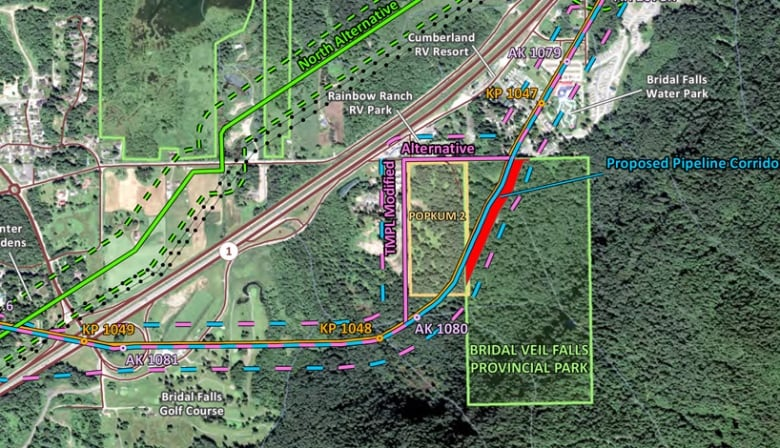 Kinder Morgan S Trans Mountain Pipeline Could Cross B C