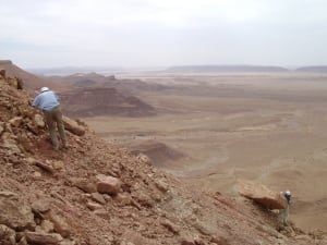 Paelontologists on Spinosaurus expedition in Morocco
