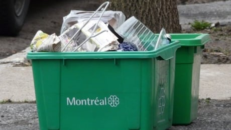Montreal Recycling bin